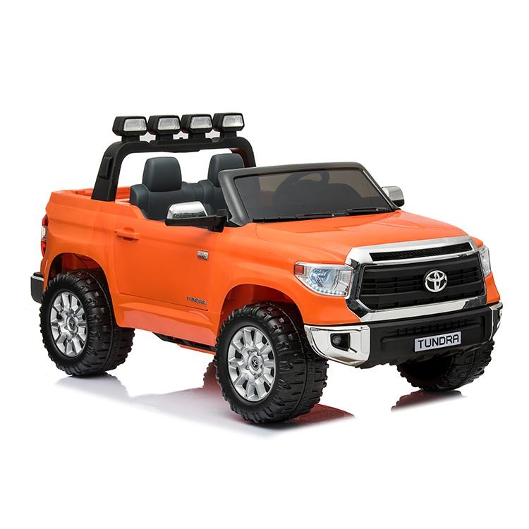 Купить Электромобиль Toyota Tundra Mini оранжевого цвета, ToyLand