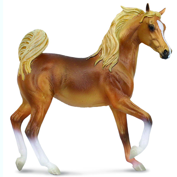 Фигурка Gulliver Collecta - Арабская кобыла, золотой каштанЛошади (Horse)<br>Фигурка Gulliver Collecta - Арабская кобыла, золотой каштан<br>