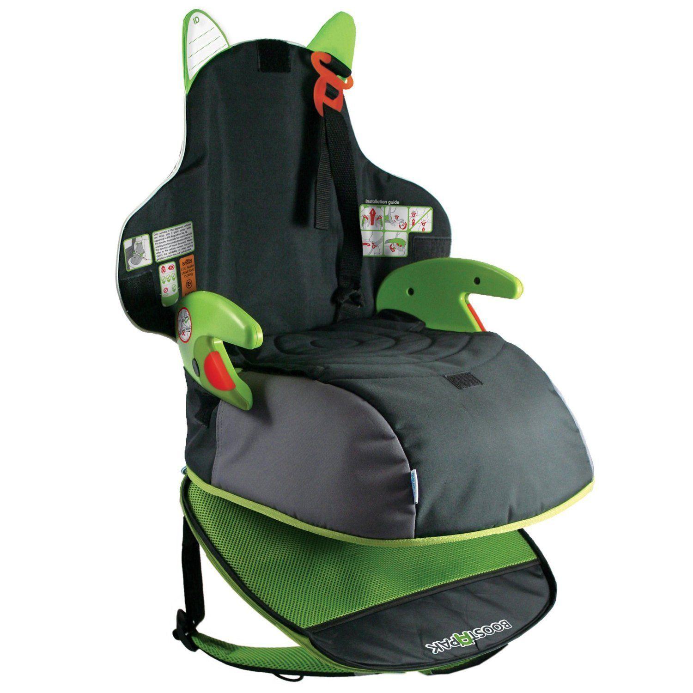 Детский рюкзак-автокресло Boostapak, черно-зеленоеАвтокресла (15-36кг)<br>Детский рюкзак-автокресло Boostapak, черно-зеленое<br>