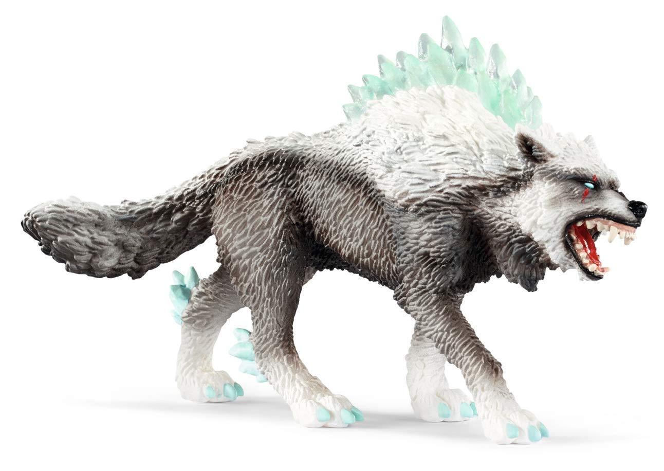Купить Фигурка Eldrador Schleich — Снежный волк, 42452