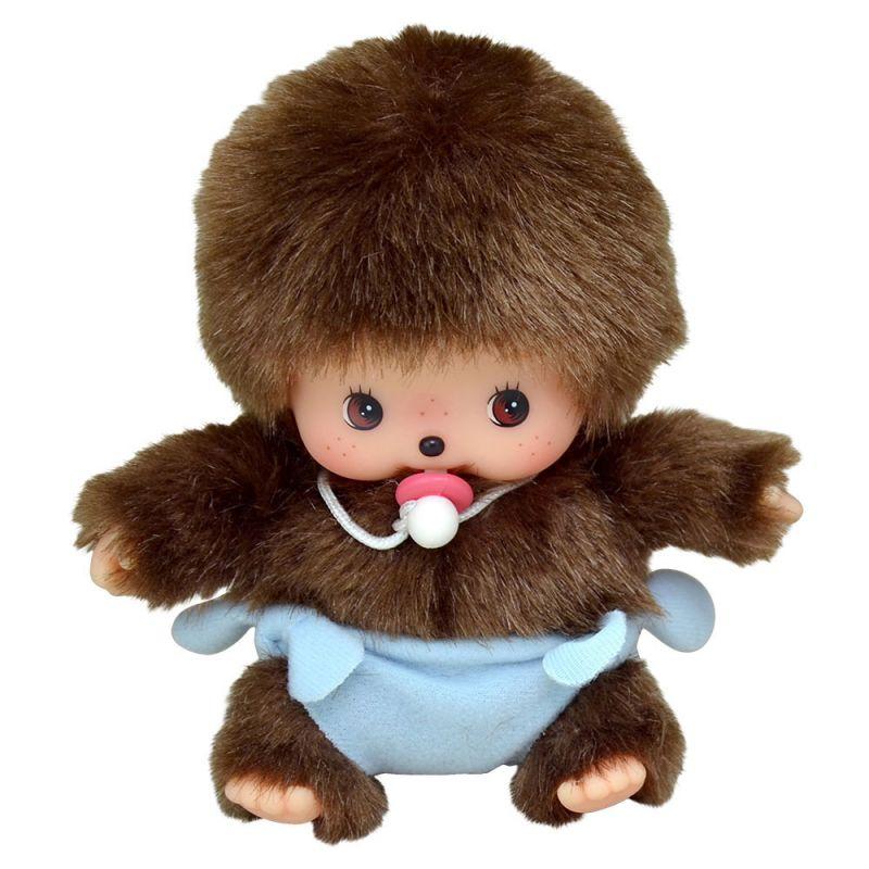 Купить Мягкая игрушка из серии Бэбичичи 15 см. - Мальчик в подгузнике, Monchhichi