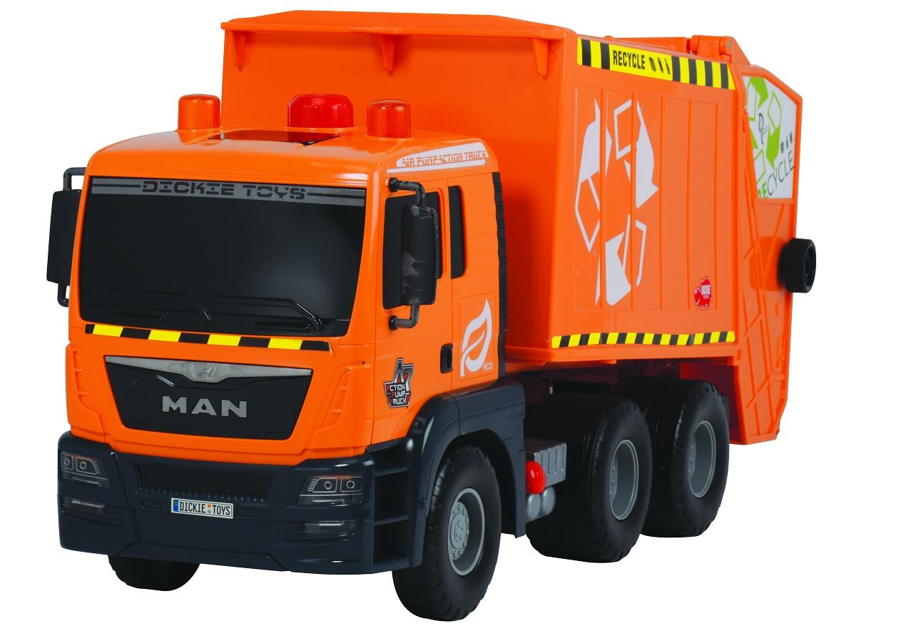 Мусоровоз Dickie Toys функциональный, 55 см.Городская техника<br>Мусоровоз Dickie Toys функциональный, 55 см.<br>