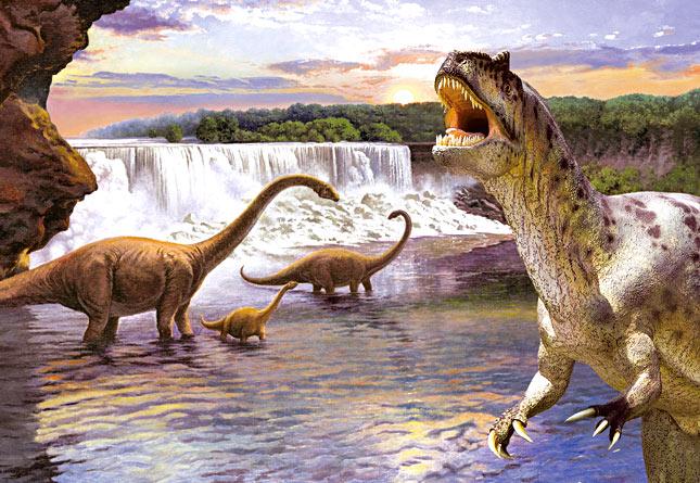 Пазл Динозавры-2, 260 элементов, Castorland  - купить со скидкой