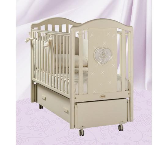 Кровать детская Mon Amourswing AvorioДетские кровати и мягкая мебель<br>Кровать детская Mon Amourswing Avorio<br>