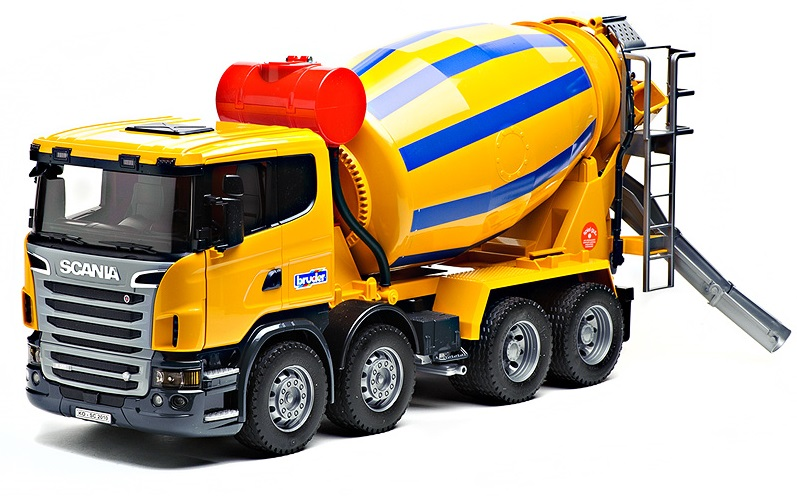 Бетономешалка Bruder Scania - Машины, артикул: 9142