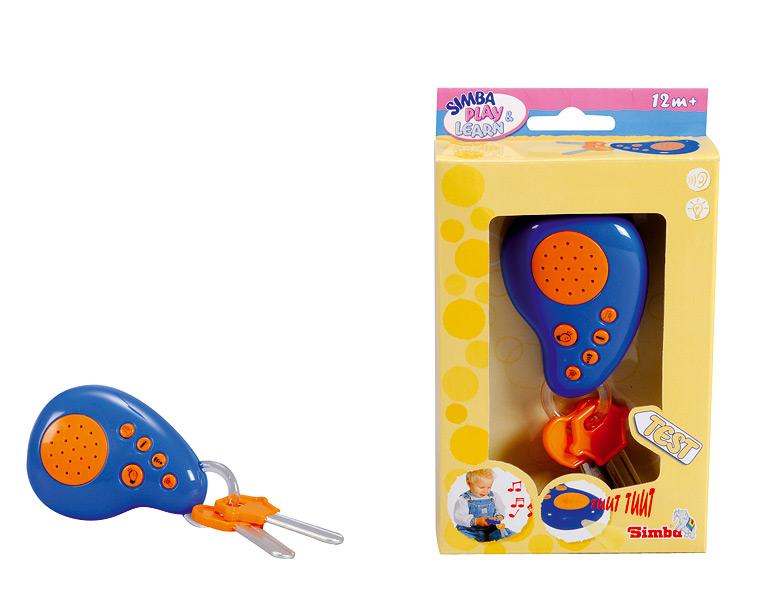Игрушка Мой первый ключ для машинкиДетские погремушки и подвесные игрушки на кроватку<br>Игрушка Мой первый ключ для машинки<br>