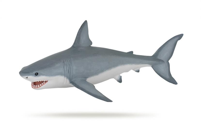 Фигурка - Белая акулаДикая природа (Wildlife)<br>Фигурка - Белая акула<br>