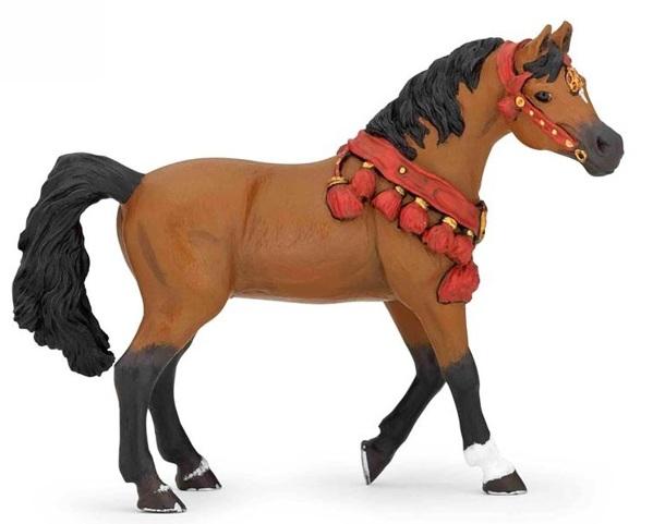 Коллекционная фигурка Арабская лошадь в парадной упряжкеЛошади (Horse)<br>Коллекционная фигурка Арабская лошадь в парадной упряжке<br>