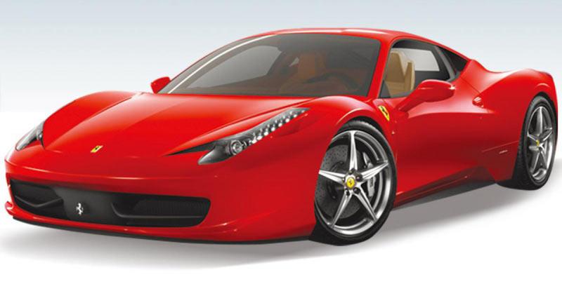 Ferrari 458 Italia на радиоуправлении, масштаб 1:14Машины на р/у<br>Ferrari 458 Italia на радиоуправлении, масштаб 1:14<br>