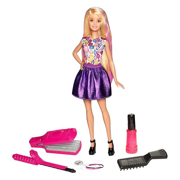 Mattel Barbie. Игровой набор «Цветные локоны»Куклы Barbie (Барби)<br>Mattel Barbie. Игровой набор «Цветные локоны»<br>