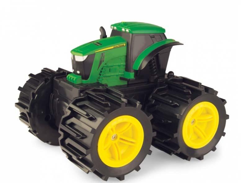 Купить Трактор John Deere - Mega Monster Wheels, свет и звук, Tomy