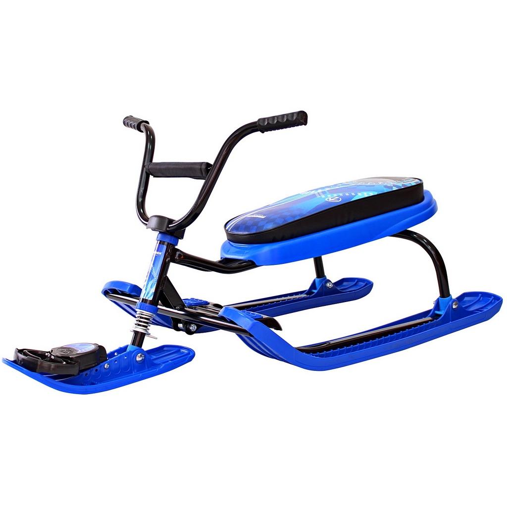 Снегокат Penguin Sport, моторуль, синийСнегокаты<br>Снегокат Penguin Sport, моторуль, синий<br>