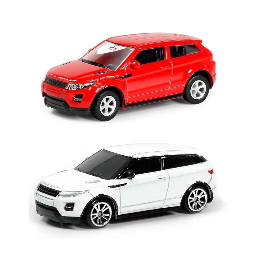 Купить Машина металлическая RMZ City - Range Rover Evoque, 1:64 цвет красный / белый