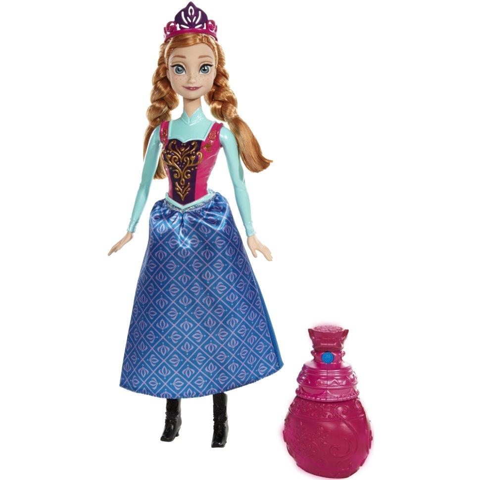 Кукла Анна с брызгалкойКуклы холодное сердце<br>Кукла Анна с брызгалкой<br>