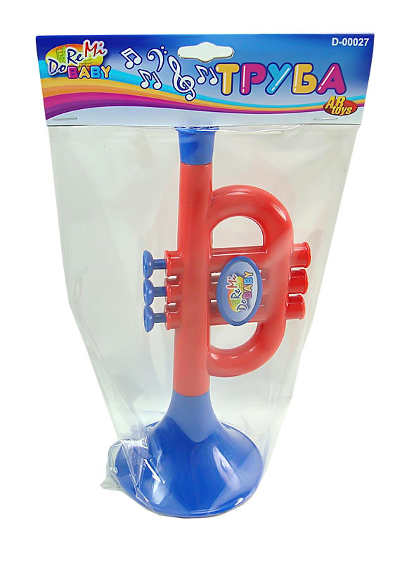 Красно-синяя труба фото