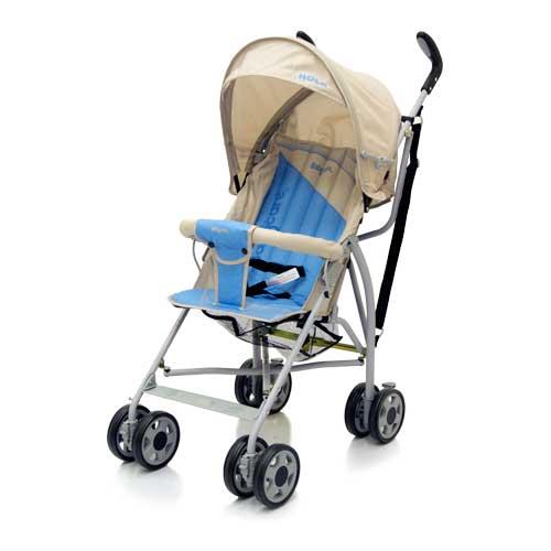 Коляска трость Hola, Light Grey/BlueДетские коляски Capella Jetem, Baby Care<br>Коляска трость Hola, Light Grey/Blue<br>