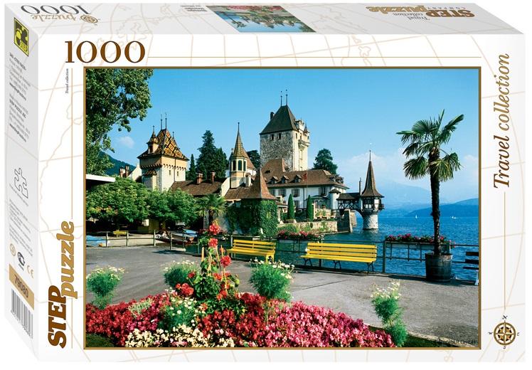 Пазл Замок Оберхофен. Швейцария. 1000 элементовПазлы 1000 элементов<br>Пазл Замок Оберхофен. Швейцария. 1000 элементов<br>