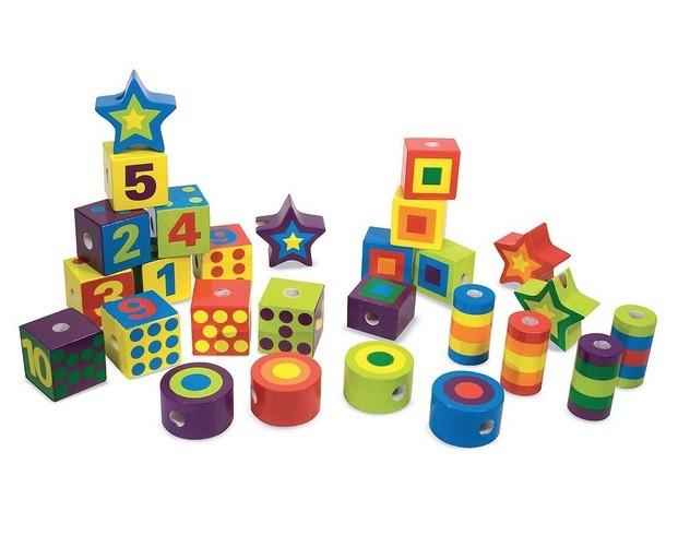 Игровой набор «Сшивание бусин», в коробкеШнуровка<br>Игровой набор «Сшивание бусин», в коробке<br>