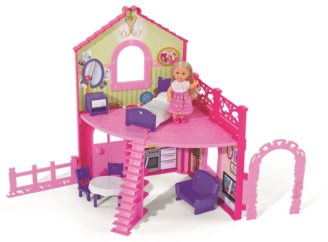 Кукла Еви в двухэтажном доме по цене 2 999