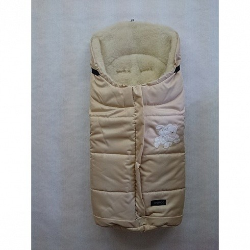 Спальный мешок в коляску №12  Wintry, бежевый - Прогулки и путешествия, артикул: 171057