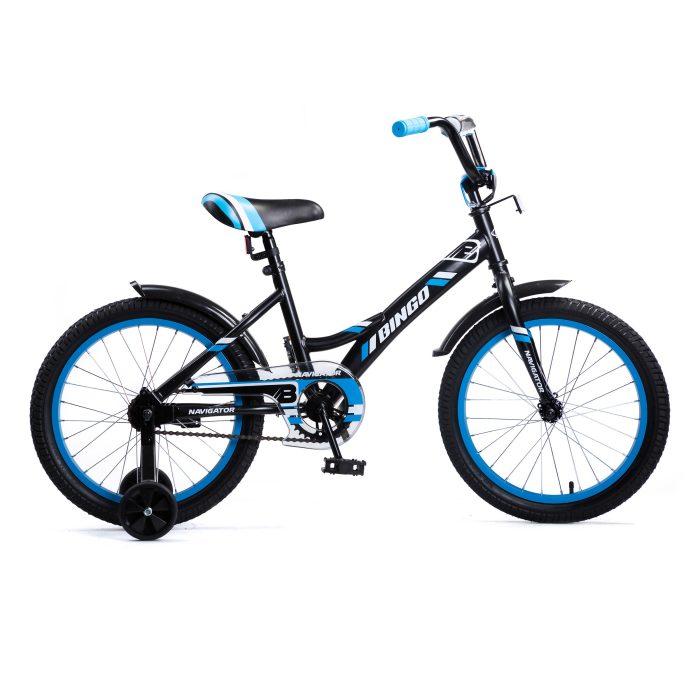 Купить Детский велосипед Navigator Bingo, колеса 18 , стальная рама, стальные обода, ножной тормоз