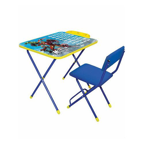Набор мебели Marvel 2  Команда Мстители, голубой - Парты, артикул: 159340