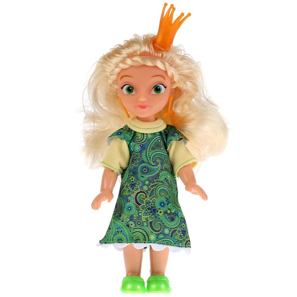 Купить Кукла из серии Царевны - Василиса, 15 см, Карапуз