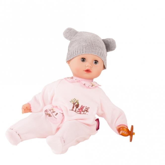Купить Кукла Маффин в розовом комбинезоне, без волос, Gotz