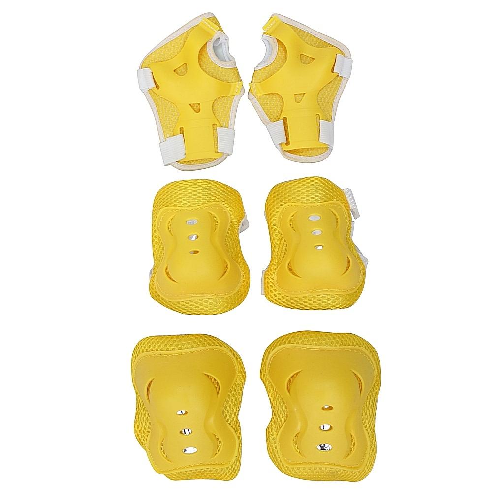 Набор защиты для катания 144404 YWHJ-023, размер S, цвет – yellow от Toyway