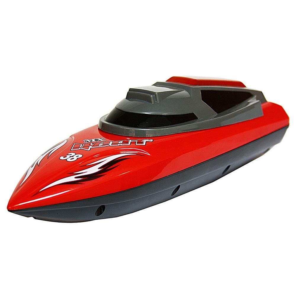 Катер на радиоуправлении, красныйКатера, лодки и корабли на радиоуправлении<br>Катер на радиоуправлении, красный<br>