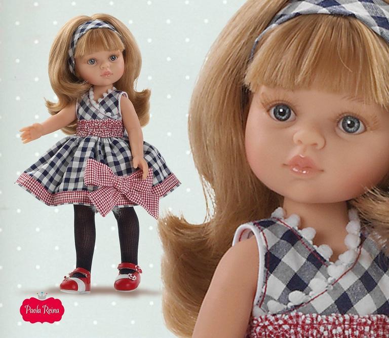 Кукла Карла Зима, 32 смИспанские куклы Paola Reina (Паола Рейна)<br>Кукла Карла Зима, 32 см<br>