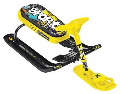 Снегокат Тимка Спорт 5, дизайн – Граффити желтый, высота – 44 см.Снегокаты<br>Снегокат Тимка Спорт 5, дизайн – Граффити желтый, высота – 44 см.<br>