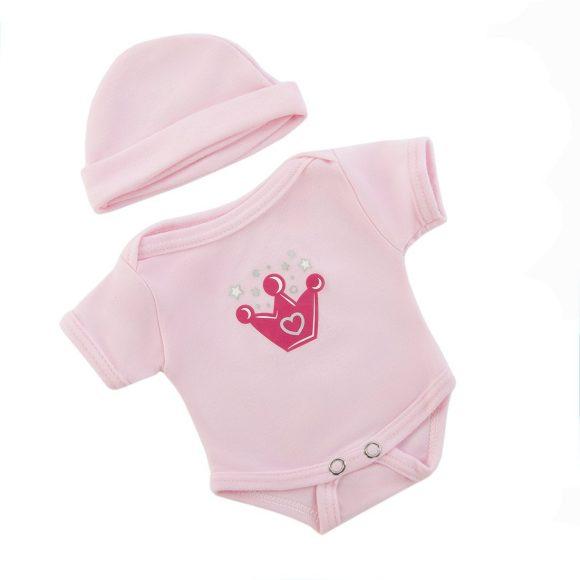 Одежда для куклы 38-43 см - боди с шапочкойОдежда для кукол<br>Одежда для куклы 38-43 см - боди с шапочкой<br>