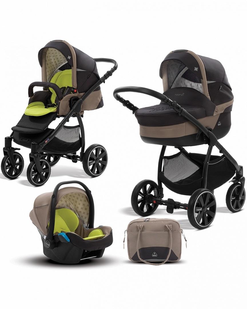 Коляска детская Noordi Polaris SP 3 в 1 с автокресломДетские коляски 2 в 1<br>Коляска детская Noordi Polaris SP 3 в 1 с автокреслом<br>
