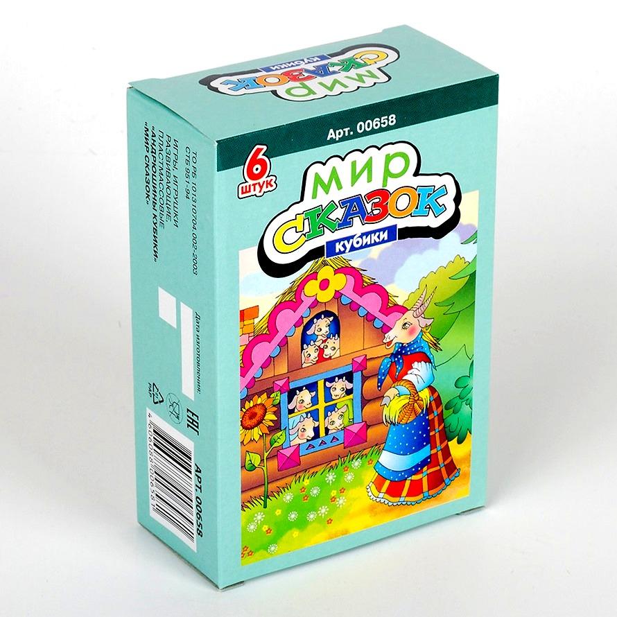 Купить Кубики Мир сказок-5, 6 шт., Десятое королевство