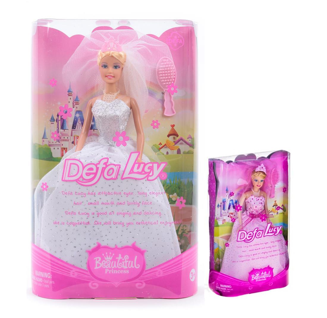 Кукла Defa - Принцесса в свадебном платье с аксессуарами, 28 смКуклы Defa Lucy<br>Кукла Defa - Принцесса в свадебном платье с аксессуарами, 28 см<br>