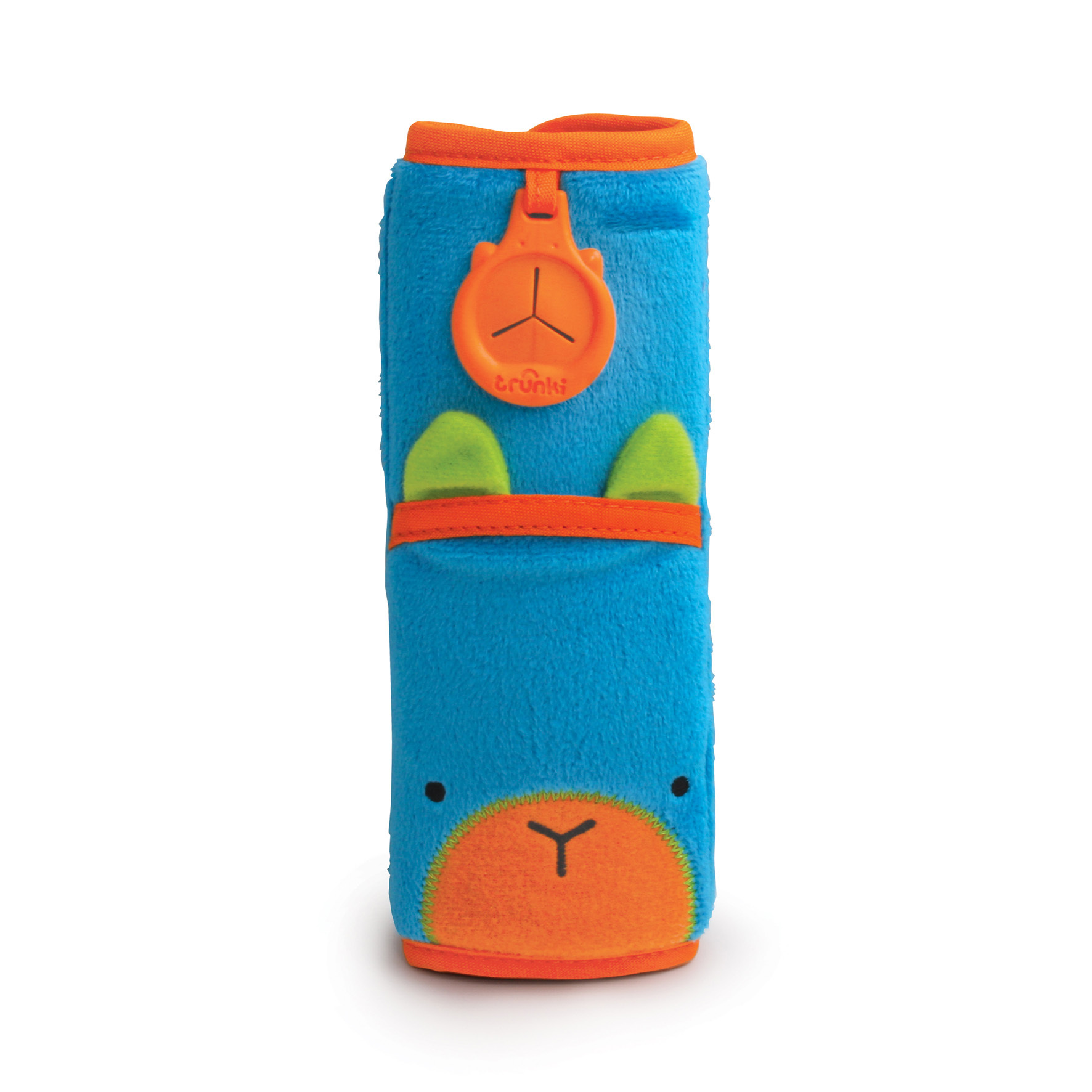 Накладка-чехол для ремня безопасности – Заяц, голубой, Trunki  - купить со скидкой