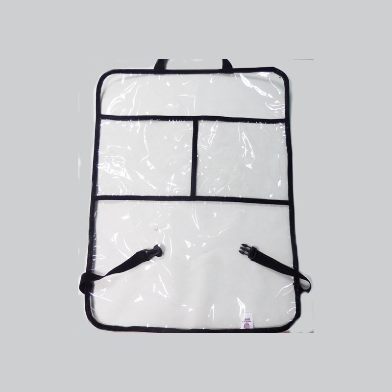 Защитная накидка на спинку переднего сиденья автомобиля -КарманыАксессуары для путешествий и прогулок<br>Защитная накидка на спинку переднего сиденья автомобиля -Карманы<br>