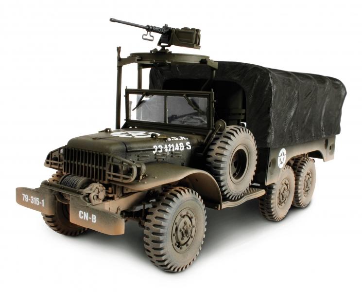 Коллекционная модель - американский 6X6 грузовик 1,5 тонн, 1945 года, 1:32Военная техника<br>Коллекционная модель - американский 6X6 грузовик 1,5 тонн, 1945 года, 1:32<br>