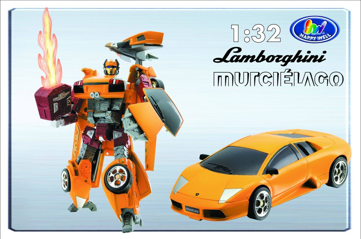 Трансформер «Lamborghini Murcielago»Игрушки трансформеры<br>Трансформер «Lamborghini Murcielago»<br>Машинка трансформер сделана в масштабе 1:32.<br>
