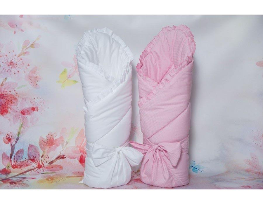 Купить Конверт - одеяло на выписку – Солнышко, Р2015, весна, розовый, Мой Ангелок
