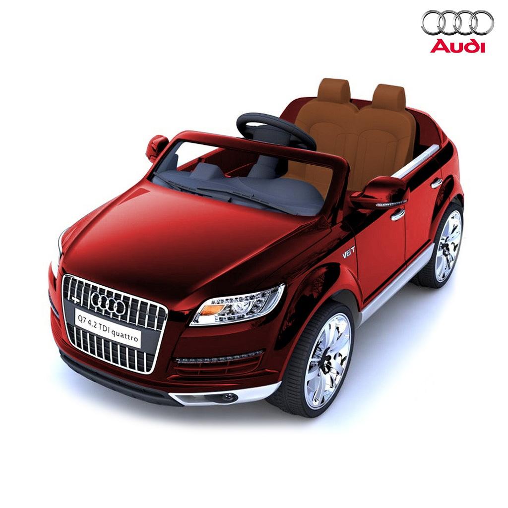 Электромобиль Audi Q7 HLQ7 12V, красныйЭлектромобили, детские машины на аккумуляторе<br>Электромобиль Audi Q7 HLQ7 12V, красный<br>