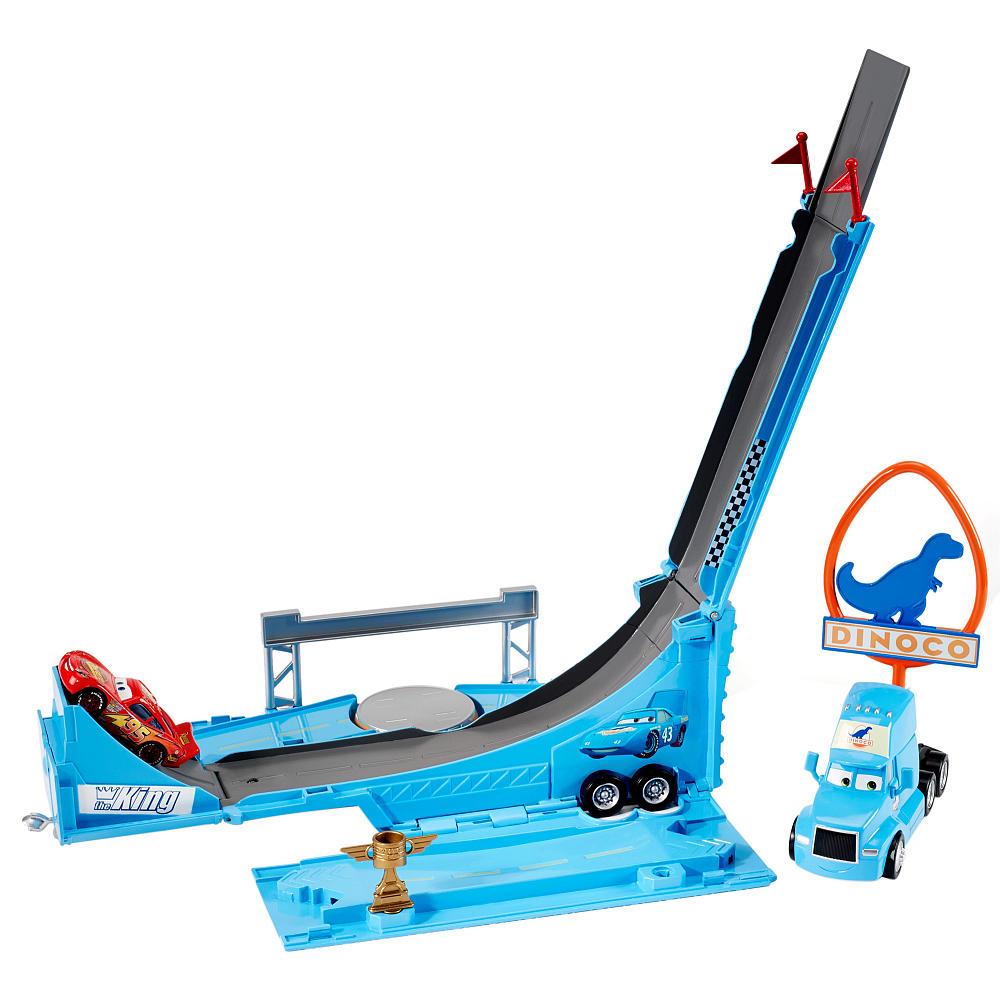 Трек-трансформер - Супер прыжокCARS 3 (Игрушки Тачки 3)<br>Трек-трансформер - Супер прыжок<br>