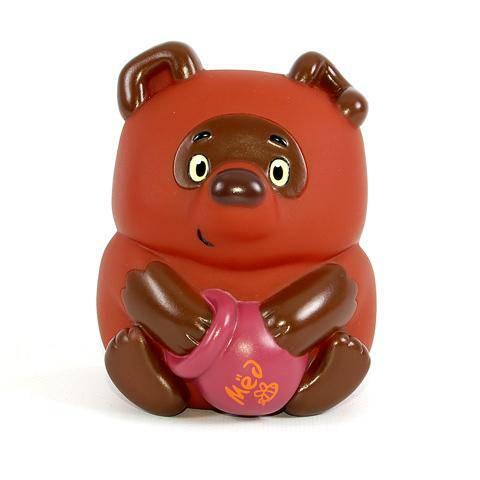 Фигурка из пластизоля «Винни Пух»Игрушки для ванной<br>Фигурка из пластизоля «Винни Пух»<br>