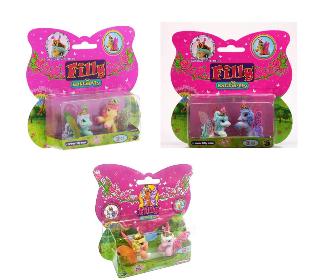Набор Filly Бабочки - Лучшие друзьяЛошадки Филли Filly Princess<br>Набор Filly Бабочки - Лучшие друзья<br>
