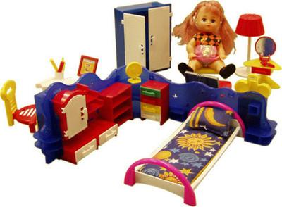 Игровой набор мебели - КристинаКукольные домики<br>Игровой набор мебели - Кристина<br>