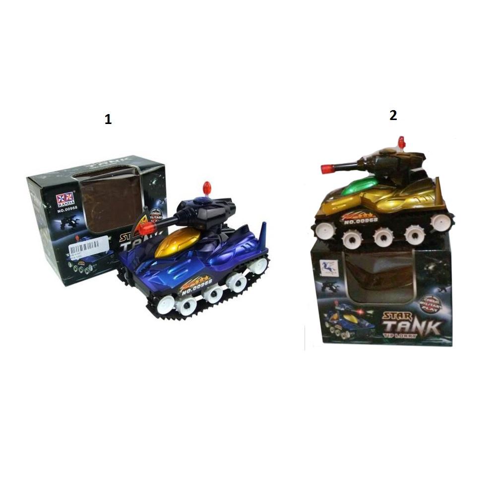 Купить Танк электромеханический со звуковыми и световыми эффектами, JUNFA TOYS