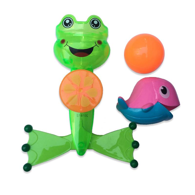 Лягушка-мельница для ванной, в наборе с аксессуарами  – Веселое купание от Toyway
