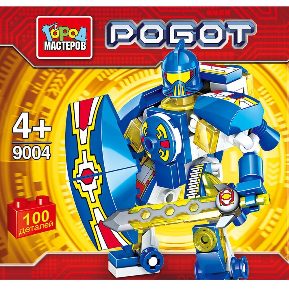 Купить Конструктор – Робот. Несколько расцветок, Город мастеров