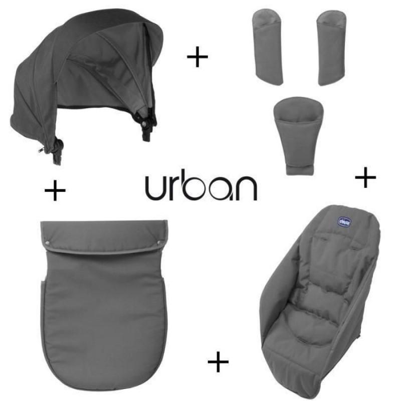 Набор аксессуаров к коляске Urban AnthraciteАксессуары к коляскам<br>Набор аксессуаров к коляске Urban Anthracite<br>